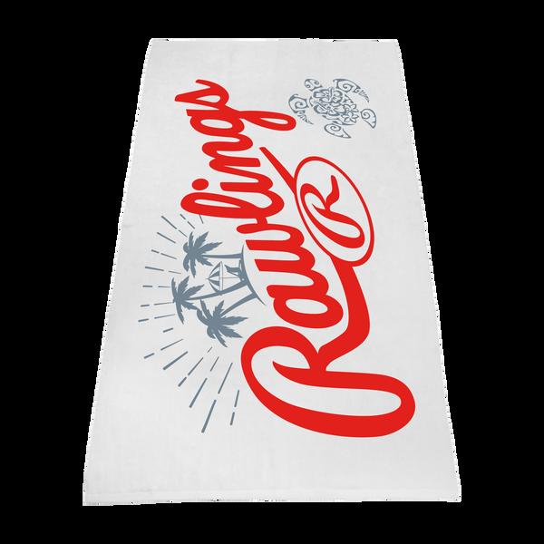 white beach towels,  imprinted beach towels,  embroidered beach towels,