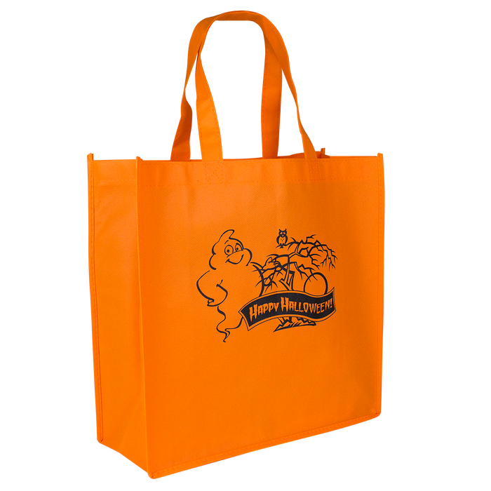 Orange Halloween Express Lane Tote