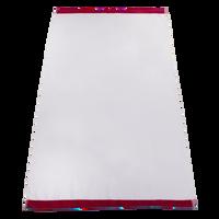 Red Heavyweight Colored Edge Beach Towel Thumb