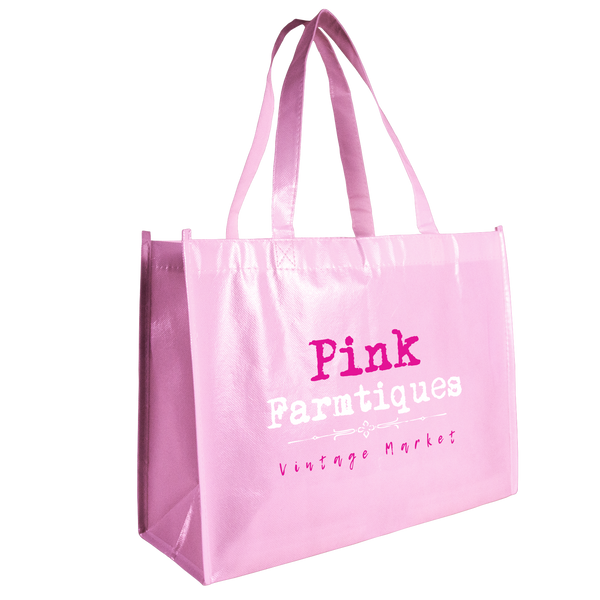 breast cancer awareness bags,  laminated bags,  tote bags,