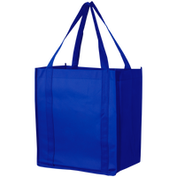 Royal Blue Thrifty Grocery Tote Thumb
