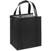 Black Large Insulated Cooler Tote Thumb