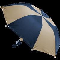 Navy/Tan Classic Umbrella Thumb