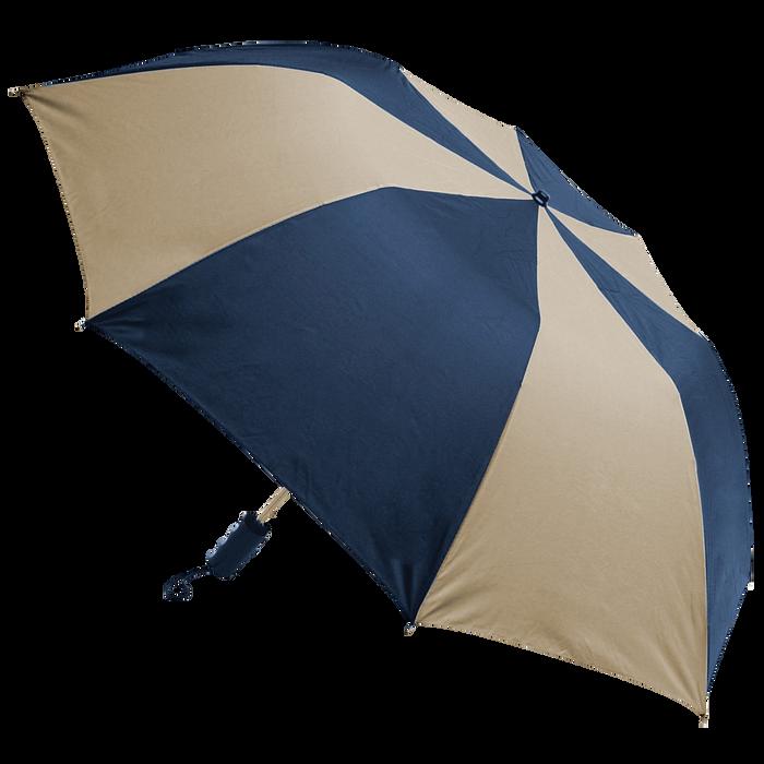 Navy/Tan Classic Umbrella
