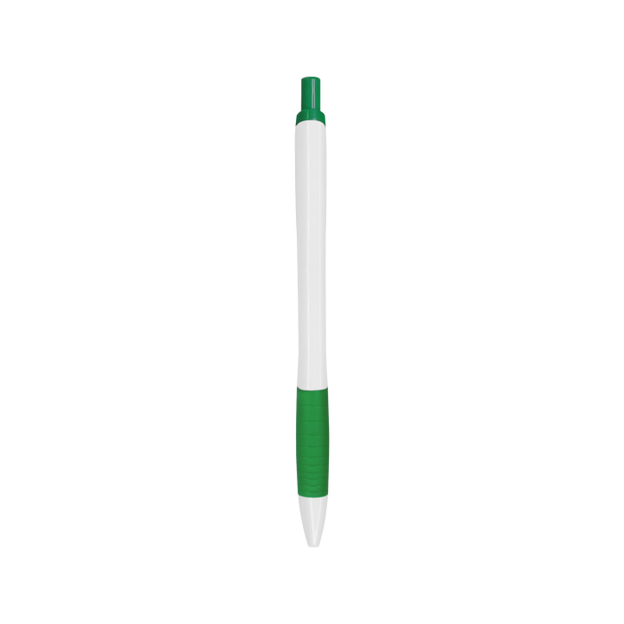 Green with Blue Ink Soft Grip Pen