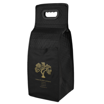 Insulated 4 Bottle Wine Tote