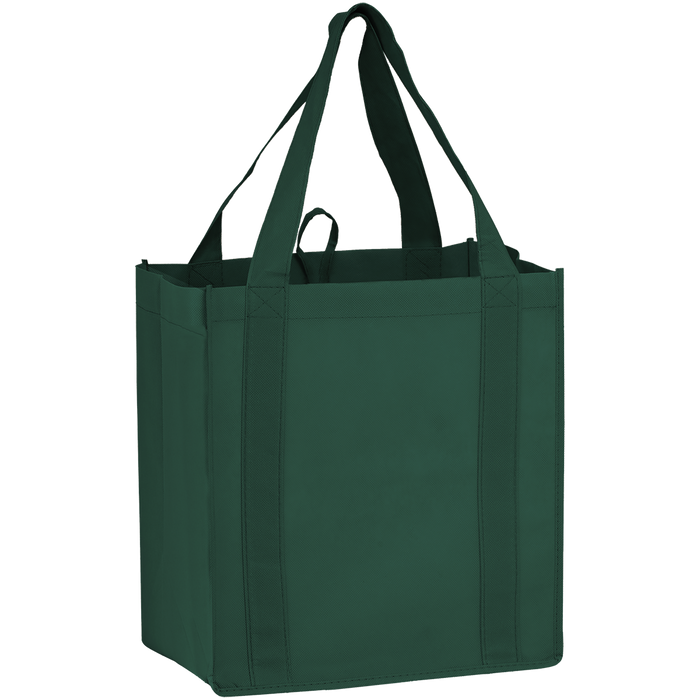 Hunter Green Little Storm Grocery Bag
