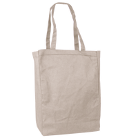 Natural Cotton Canvas Tote Thumb