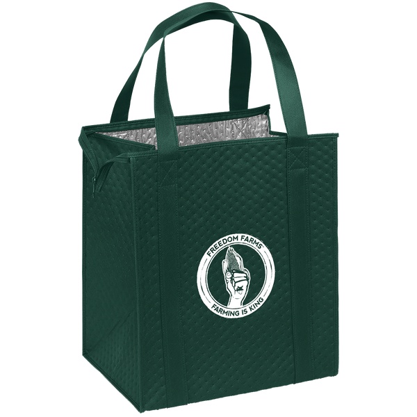 insulated totes,  breast cancer awareness bags,
