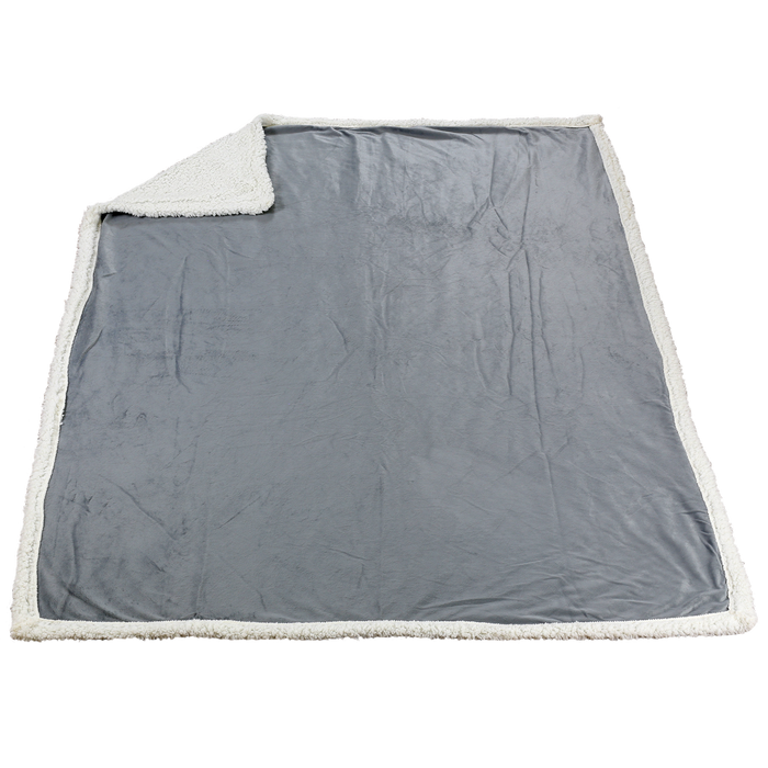Silver Grey Denali Standard Throw Blanket