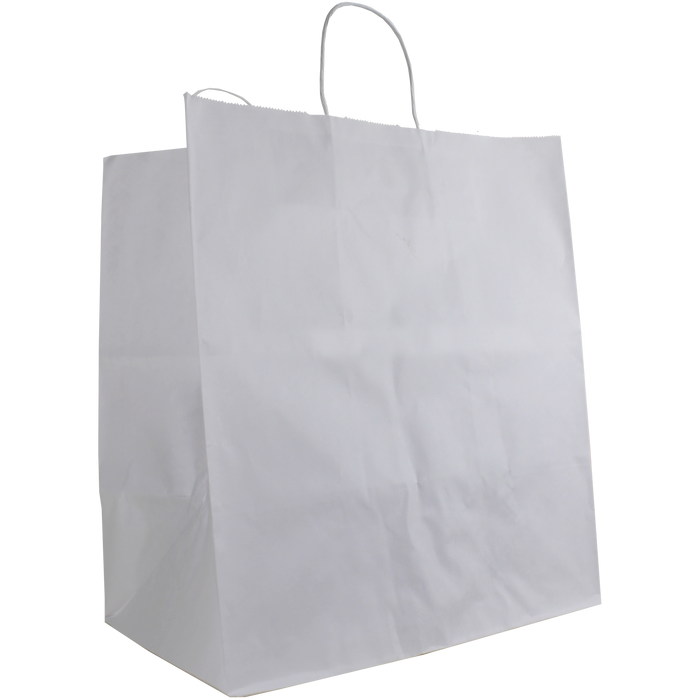White Extra Large White Paper Shopper Bag