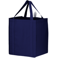 Navy Blue Big Storm Grocery Bag Thumb