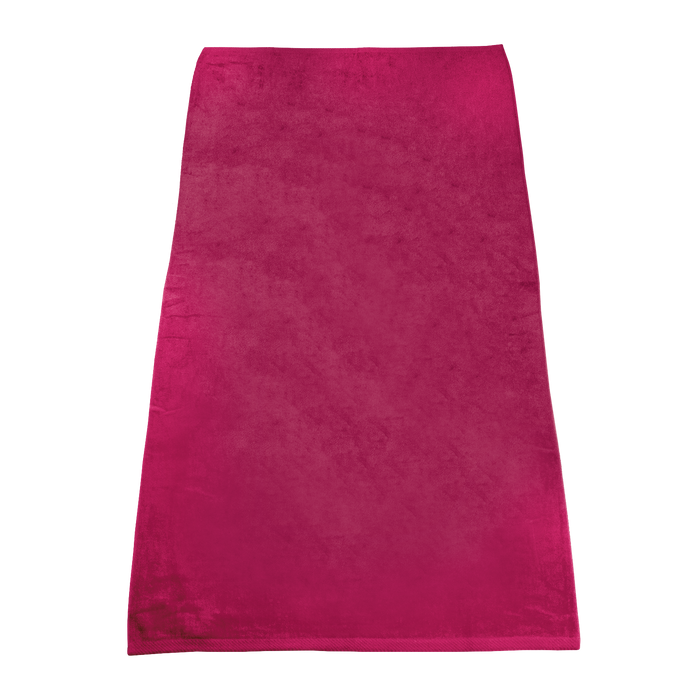Fuchsia Classic Color Beach Towel