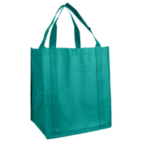 Teal Wine & Dine Reusable Tote Bag Thumb