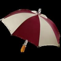 Burgundy/Tan Jupiter Umbrella Thumb