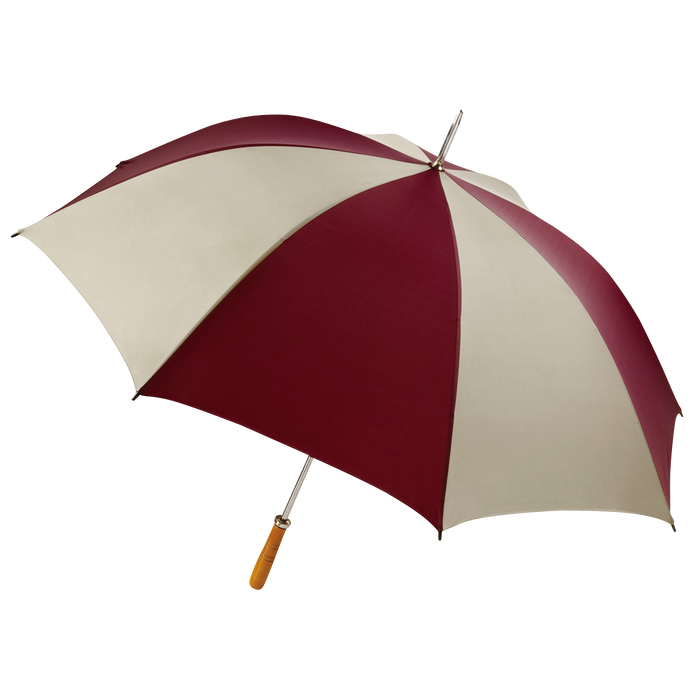 Burgundy/Tan Jupiter Umbrella