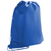 Royal Blue Classic Drawstring Backpack Thumb