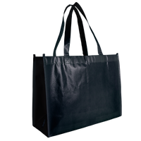 Black Laminated Convention Tote Thumb