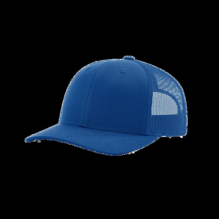 Royal Blue Richardson Trucker Snapback Hat