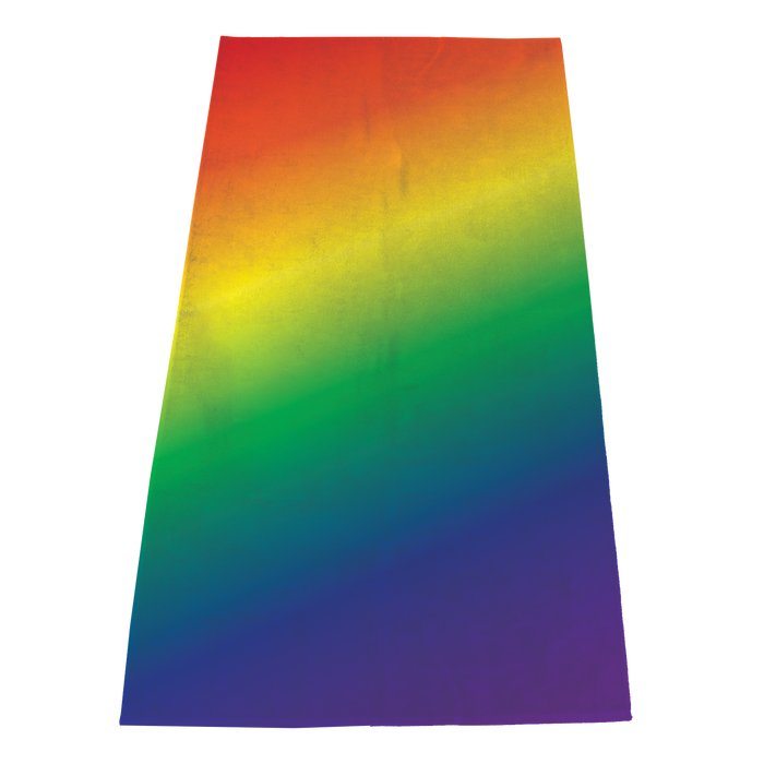 Full Color Value Full Color Print Beach Towel