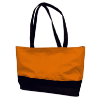 Orange Promenade Beach Bag Thumb