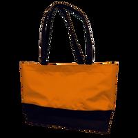 Orange Promenade Beach Bag Thumb