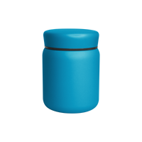 Matte Aqua Stainless Steel Insulated Food Canister Thumb