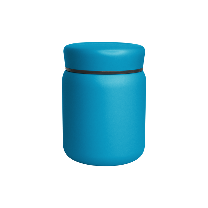 Matte Aqua Stainless Steel Insulated Food Canister