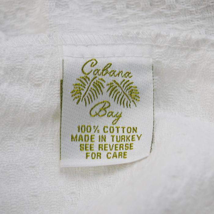 Cotton Waffle Weave Robe