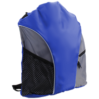 Royal Blue Lightweight Drawstring Backpack Thumb