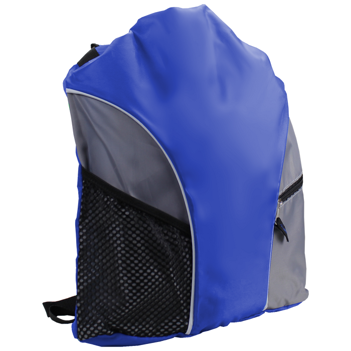 Royal Blue Lightweight Drawstring Backpack