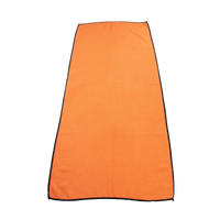 Orange Large Microfiber Golf Towel Thumb