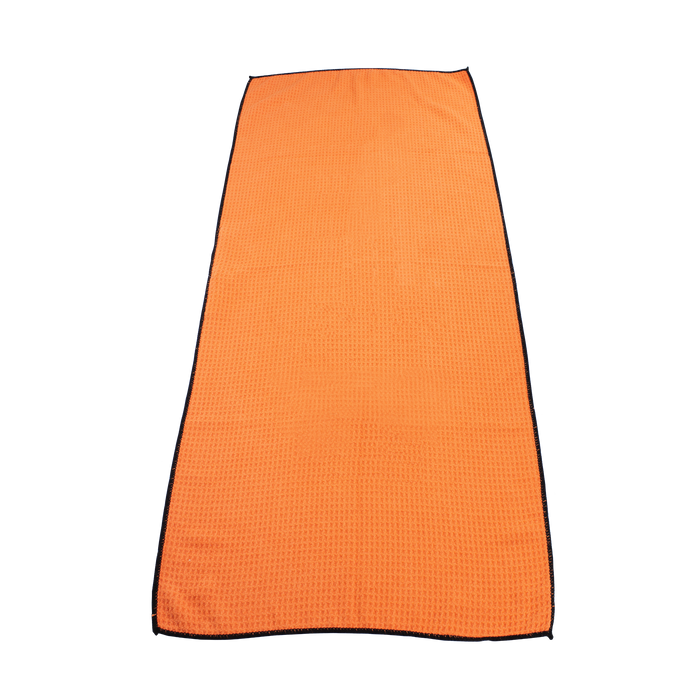 Orange Large Microfiber Golf Towel