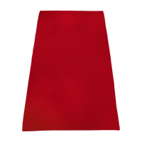 Red Value Line Color Beach Towel Thumb