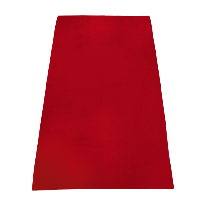 Red Value Line Color Beach Towel