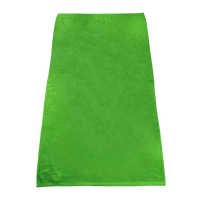 Lime Green Classic Color Beach Towel Thumb