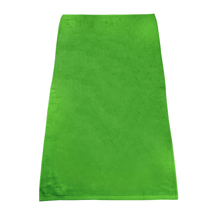 Lime Green Classic Color Beach Towel