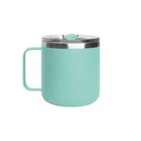 Matte Mint Stainless Steel Insulated Camper Mug Thumb