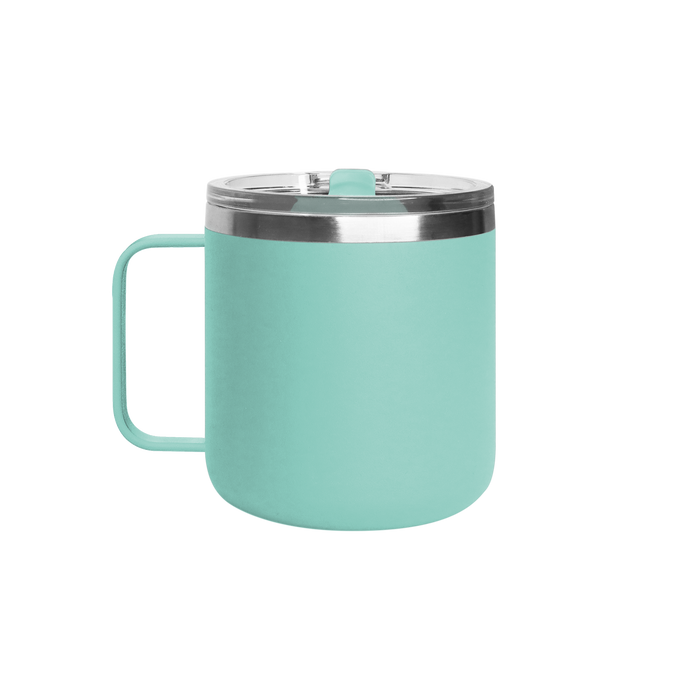 Matte Mint Stainless Steel Insulated Camper Mug