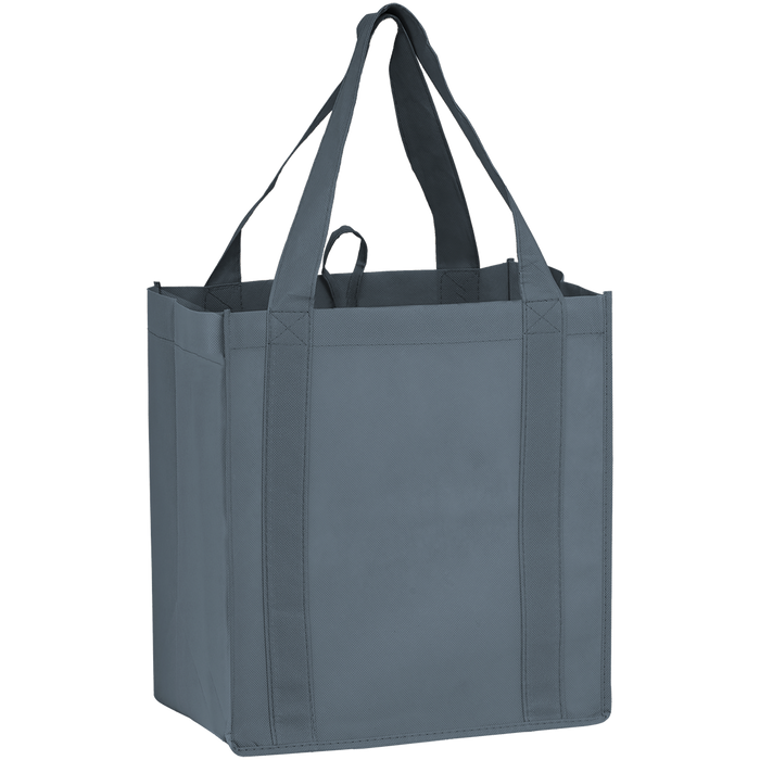 Gray Little Storm Grocery Bag