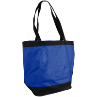Royal Blue Clipper Fashion Tote Bag Thumb