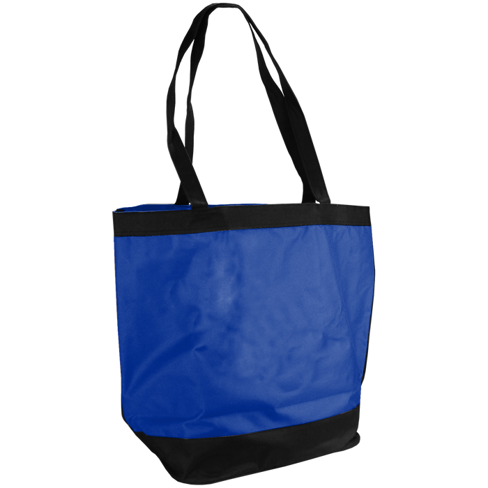Royal Blue Clipper Fashion Tote Bag