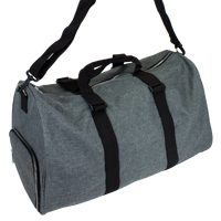 Heather Grey The Traveler Weekend Duffel  Thumb