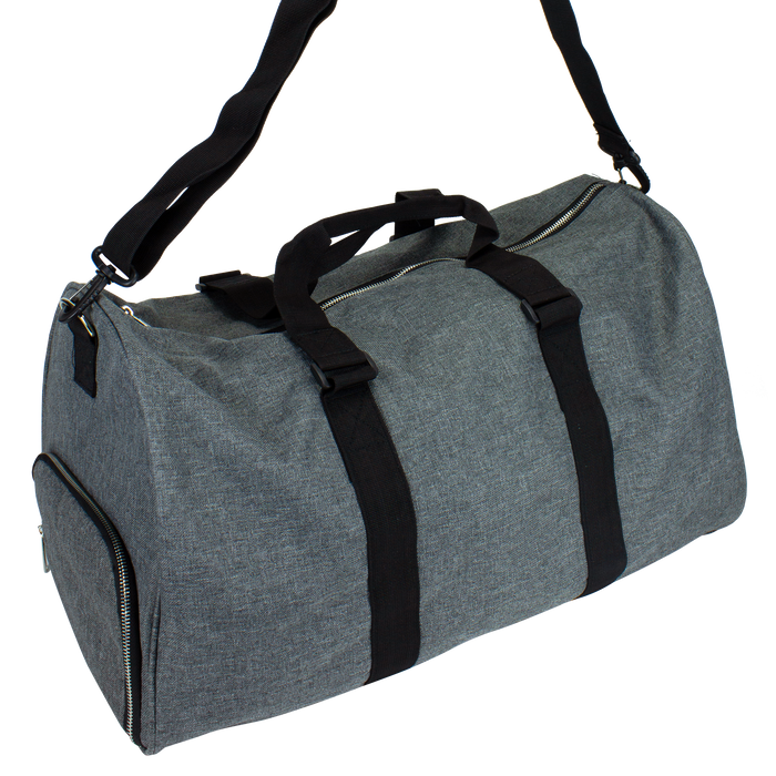 Heather Grey The Traveler Weekend Duffel