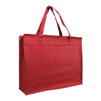 Red Zip-Up Convention Tote Plus Thumb