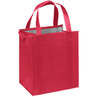 Red Large Insulated Cooler Tote Thumb