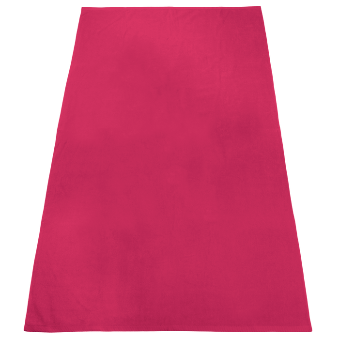 Fuchsia Nautica Color Beach Towel