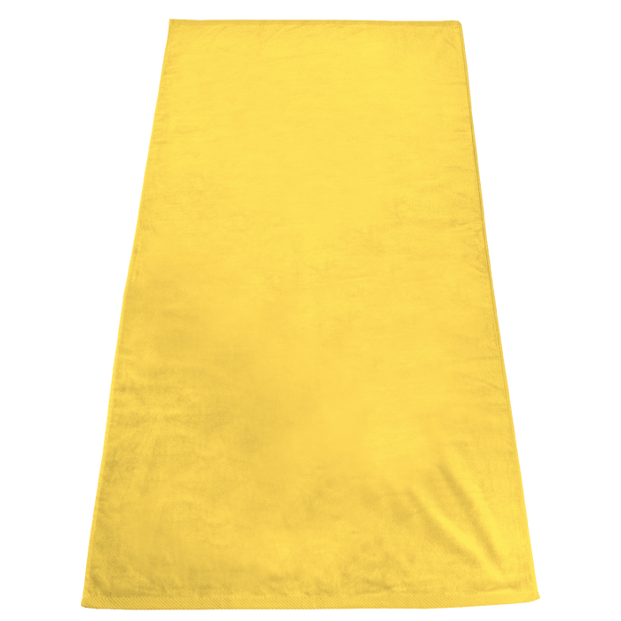 Yellow Gypsea Color Beach Towel
