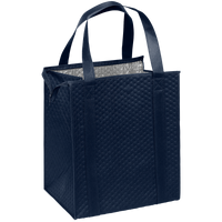 Navy Blue Large Insulated Cooler Tote Thumb