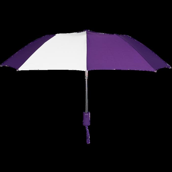 Purple/White Polaris Umbrella